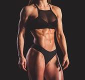 Beautiful strong woman stock image