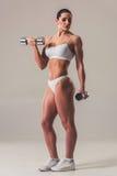 Beautiful strong woman Royalty Free Stock Image