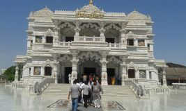 Beautiful structure of temple stock photo
