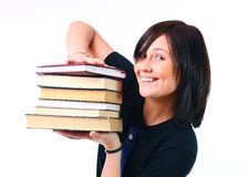 Beautiful student Stock Images