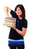 Beautiful student Stock Image