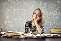 Beautiful Student Stock Photo