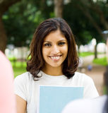 Beautiful student Royalty Free Stock Images