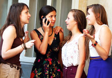 Students girls Stock Photography