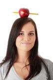 Beautiful student woman Stock Image