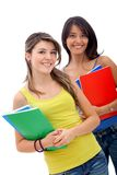 Beautiful students Stock Images