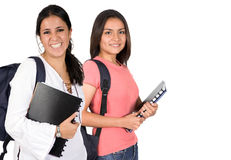 Beautiful students Royalty Free Stock Photography