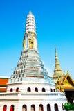 Beautiful Stupa. Temple Wat Pho in Bangkok, Thailand. Selective Royalty Free Stock Image