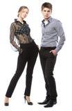 Beautiful stylish couple Stock Photo