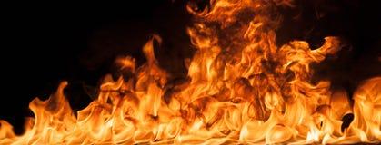 Beautiful stylish fire flames Royalty Free Stock Photo