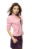 Beautiful stylish girl stock photography