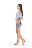 Beautiful stylish girl Stock Images