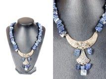Beautiful stylish handmade female vintage fashion colorful jewel Stock Images