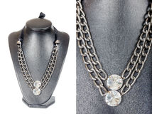 Beautiful stylish handmade female vintage fashion colorful jewel Royalty Free Stock Photography