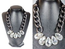 Beautiful stylish handmade female vintage fashion colorful jewel Royalty Free Stock Images