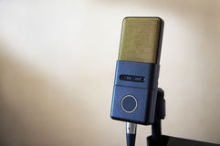 Beautiful and stylish microphone Royalty Free Stock Images