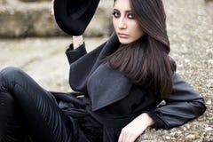 Beautiful stylish woman Stock Image