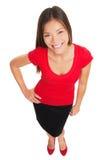 Beautiful stylish woman with charm Stock Photo