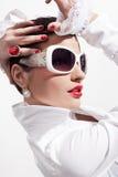 Beautiful stylish young women Royalty Free Stock Images