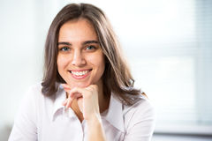 Beautiful successful business woman portrait Stock Photography