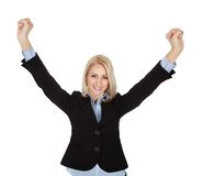 Beautiful successful businesswoman Royalty Free Stock Image