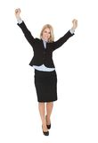 Beautiful successful businesswoman Stock Photo
