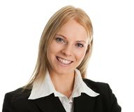 Beautiful sucessful businesswoman Stock Photography