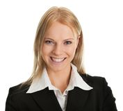 Beautiful sucessful businesswoman Royalty Free Stock Photos