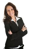 Beautiful sucessful businesswoman Royalty Free Stock Images