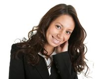 Beautiful sucessful businesswoman Stock Image