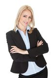 Beautiful sucessful businesswoman Royalty Free Stock Photography