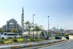 Beautiful Suleymaniye Camii in Istanbul, Turkey Royalty Free Stock Image