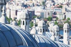 Beautiful Suleymaniye mosque Royalty Free Stock Photography