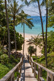 Beautiful summer beach at Koh Surin Royalty Free Stock Images