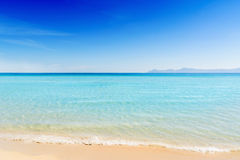 Beautiful summer beach Majorca Royalty Free Stock Photography