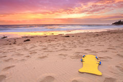 Beautiful summer beach sunrise Australia Stock Photos