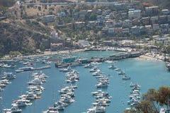 Beautiful summer Catalina island USA. Beautiful place  great port island Stock Photography