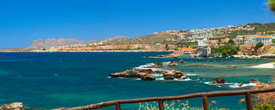Beautiful summer in Chania Royalty Free Stock Images