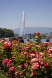 Beautiful summer day at Lake Geneva Stock Image