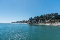Beautiful summer day at the Paradise Cove, Malibu. California Stock Photography