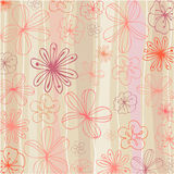 Beautiful summer floral background Stock Photography