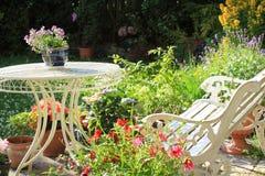 Beautiful summer garden Royalty Free Stock Image