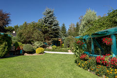 Free Beautiful Summer Garden Design Stock Images - 76547024