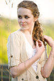Beautiful summer girl Stock Photography