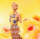Beautiful summer girl Royalty Free Stock Photos