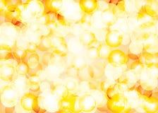 Beautiful summer glittering lens festive background. Beautiful summer yellow tones glittering lens festive background Stock Image