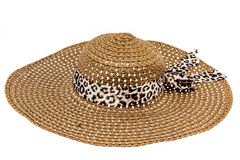 Beautiful summer hat Stock Photo