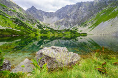 Free Beautiful Summer Lake In Mountains. High Tatras, Slovakia Royalty Free Stock Images - 99134839