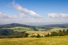 Beautiful summer landscape in Czech Republic Royalty Free Stock Image