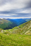 Beautiful summer landscape from Fagaras mountains, Royalty Free Stock Photography